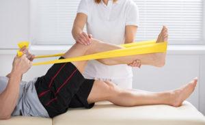 Sportspezifische Krankengymnastik