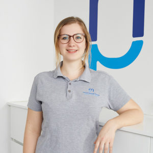 Physiotherapeutin Carolin Favre-Juncker