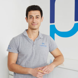 Physiotherapeut Elio Mina