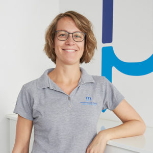 Physiotherapeutin Heike Schnepper