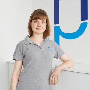 Physiotherapeutin Sandra Mümken