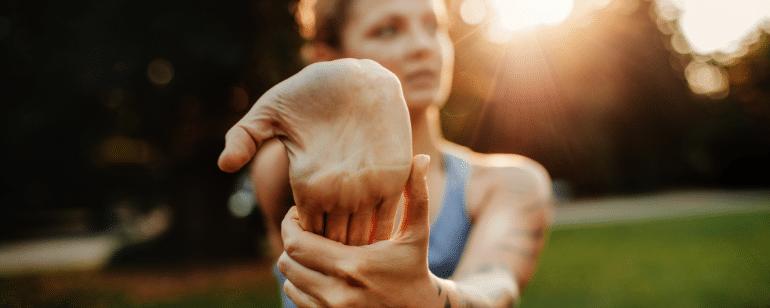 Sehnenscheidenentzündung Hand Behandlung Physiotherapie Berlin Mitte